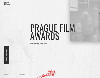 Prague Film Awards : Web Design 2019