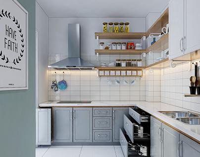Kitchen - Scandinavian