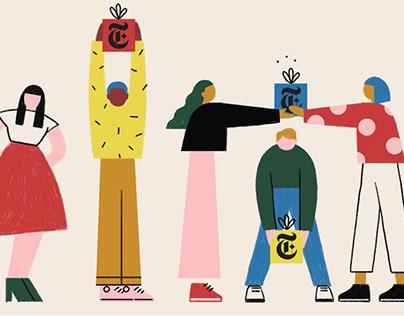 New York Times Holiday Gifting