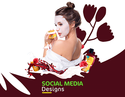 Raw African - Cosmetics Social Media Designs