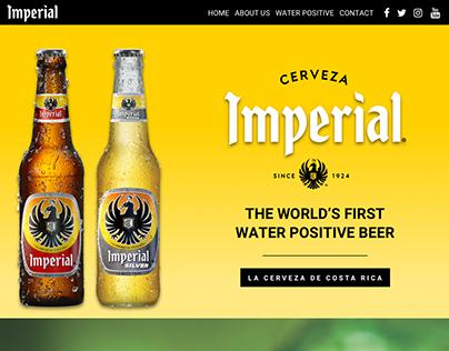 Imperial Website Mockup