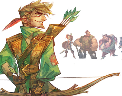 Robin Hood, Cast Design