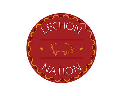 Lechon Nation (Thirty Logos Challenge)