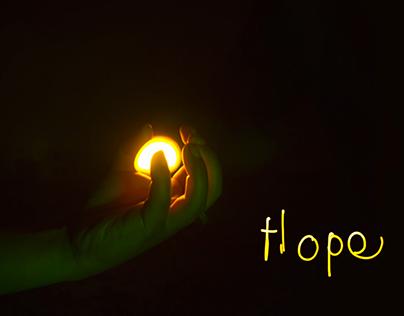 Diwali Channel V Ident. Light animation. For channel V