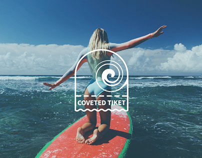 COVETED TICKET brand clothing for surfing