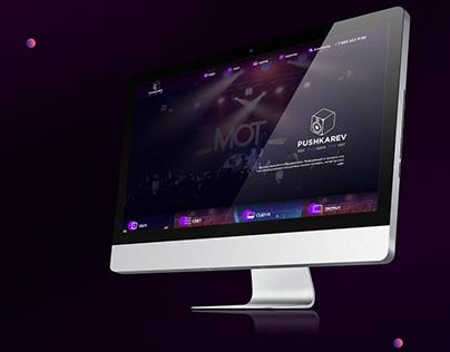 Web design // Sound studio