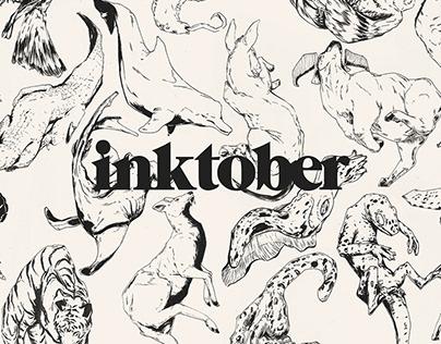Inktober 2018 // Animal Medicine
