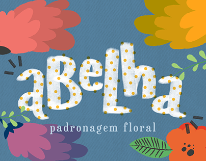 spring flowers pattern | padronagem