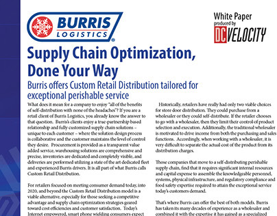 supply chain management white paper White paper: key trends, skills, and knowledge required for the supply chain manager of the future supply chain management education and.
