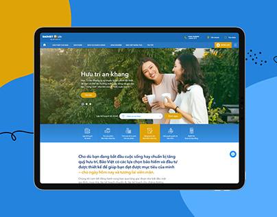 Bảo Việt Nhân Thọ Website 2019