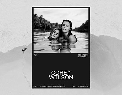 Corey Wilson. Portfolio