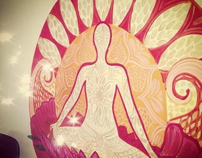 Yoga wall art
