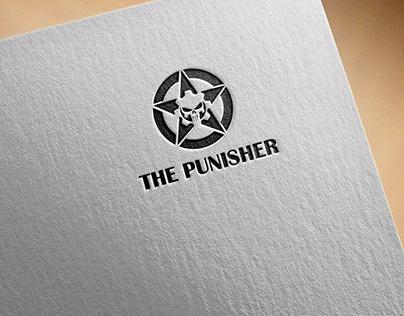 THE PUNISHER NEW LOGO SKULL + STAR + GEAR