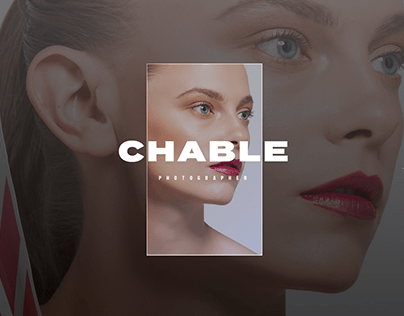 Chable Photographer - Site portfolio