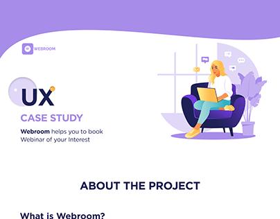 UX Case Study- WEBROOM