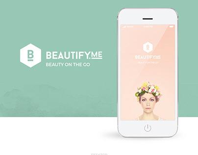 Beautify.me Logo + App design