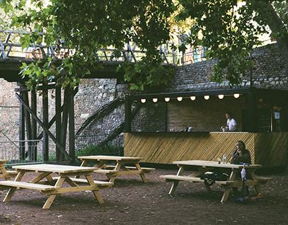 POP-UP bar+playground