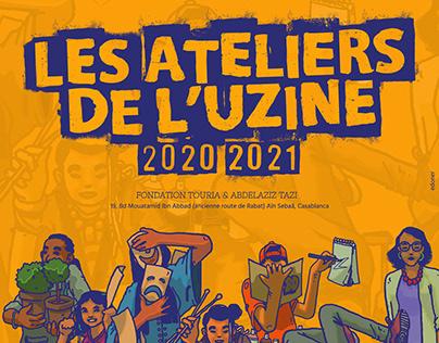 WORKSHOP POSTERS / L'UZINE