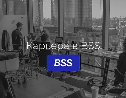 BSS Company Career/ Site page
