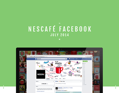 Nescafé - Global Facebook Content July 2014