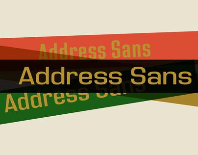 Address Sans