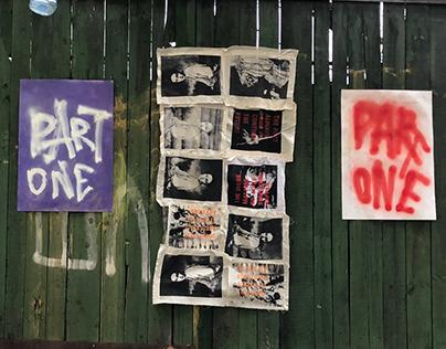 PART 1 street exhibition