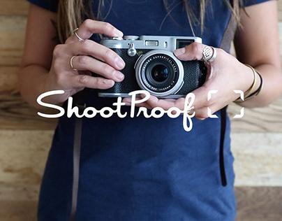 ShootProof Art Direction
