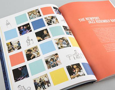Newport Jazz Assembly - Book Design & Photography
