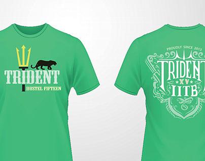 T-shirt design : Hostel 15 IIT Bombay