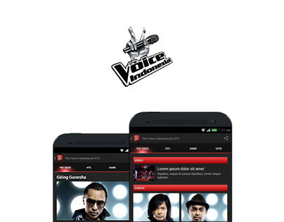 The Voice Indonesia UI/UX