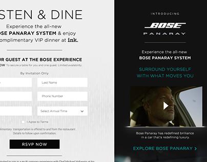 Bose [Panaray Listen & Dine Experience]