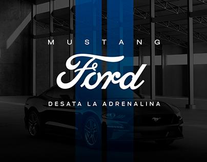 Ford Mustang Desata la Adrenalina