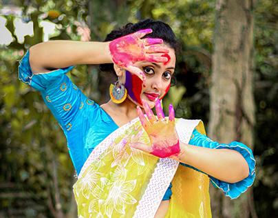 Outdoor Portfolio Shoot - Festival of Colours