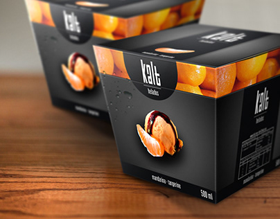 Kalt | Packaging design (Ice Cream)
