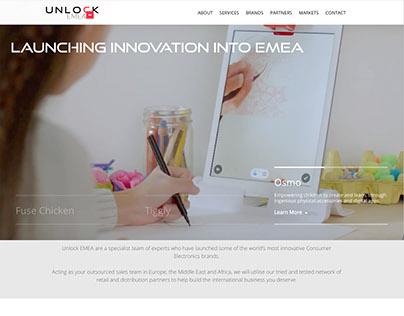 Unlock EMEA Website. www.unlock-emea.com