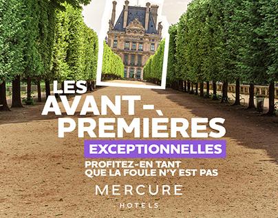MERCURE - Exceptional previews