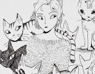 La Femme aux Chats