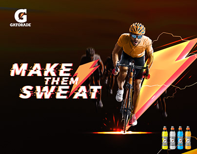 "Gatorade "" Make them sweat """