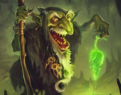 Illustrations for Goblins vs Gnomes Challenge