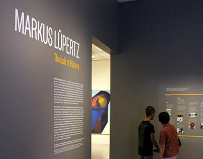 Smithsonian Hirshhorn Museum | Lupertz exhibition