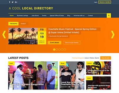 [Study] Business Directory - UI Design