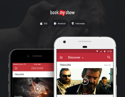 BookMyShow App – Indonesia