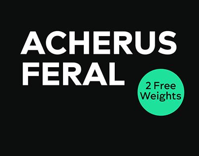 Acherus Feral Typefamily