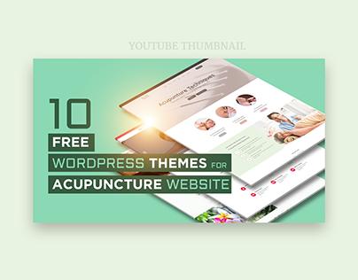 Top 10 Worpress Theme Youtube Thumbnail Design