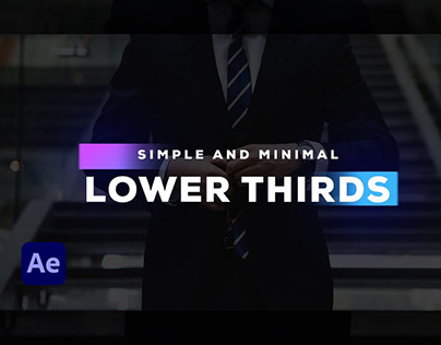 Lower Third After Effect