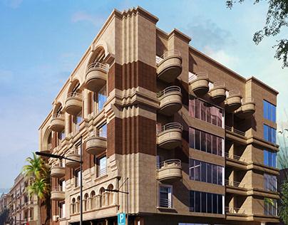 Nineteen Alahram - Office Building at Heliopolis
