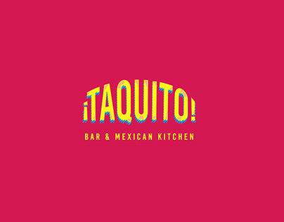 Branding Taquito Bar & Mexican Kitchen, Cozumel, Mx.