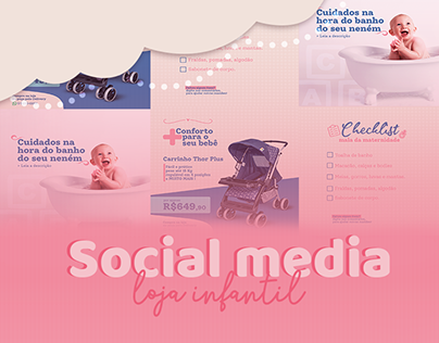 Social Media | Loja infantil Kids