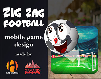 ZigZag Football mobile game design