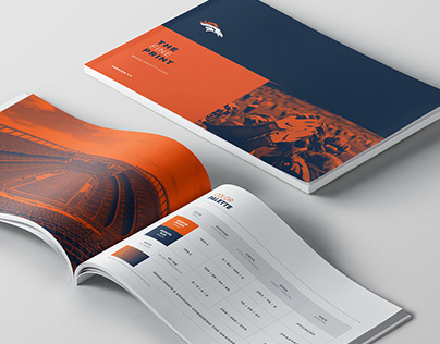 The Fine Line : Denver Broncos Brand Identity Guide